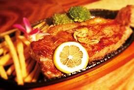美崎牛のサーロインステーキ